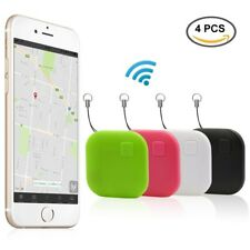 4 Pack Tile GPS Tracker - Cell Phone Bluetooth Anti Wallet Key Lost Finder
