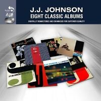 J.J. JOHNSON - 8 CLASSIC ALBUMS 4 CD NEW