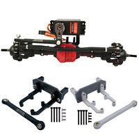 Metal Axle Servo Bracket Set for 1/10 AXIAL SCX10 II 90046 AR44 RC Crawler Car