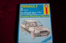 HAYNES RENAULT 5 1985 TO 1990 MANUAL Petrol Hardback
