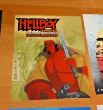 Hellboy Animated Sword Of Storms Promo Card HA-1 CARTE MINT