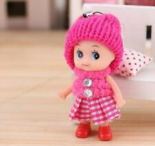 1X Free Shipping Kids Toys Soft Interactive Baby Dolls Toy Mini Doll For Girls