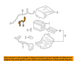 GM OEM Battery-Negative Cable 25850292