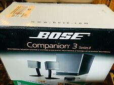 🔥 Bose Companion 3 Series II Multimedia Speaker System PC Speaker System