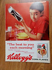 1959 Kellogg's Corn Flakes Ad How can You have a Good Morning without