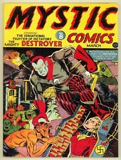 Mystic Comics #8 1942 Series 1 Stan Lee  Otto Binder Incomplete Coverless Timely