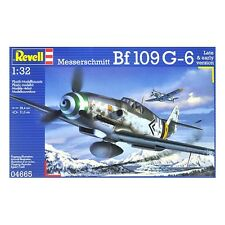 Revell Messerschmitt BF109G-6 Late & early Ver. - 1:32 Scale Aviation Kit 04665