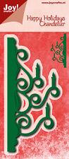 Joy Crafts troquelado & Plantilla de grabación en relieve randmal Candelabro 6002/0633