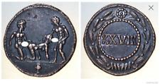Roman Spintria Brothel Entry Token XXVIII Bronze