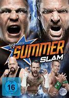WWE Summerslam 2012 DVD DEUTSCHE VERKAUFSVERSION NEU