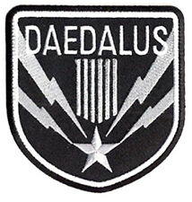 "Stargate SG-1 Daedalus Screen Accurate Silver 4"" Patch- FREE S&H (SGPA-41)"