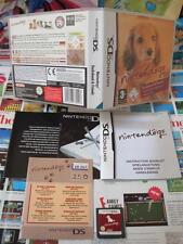 Nintendo DS:Nintendogs - Teckel & Ses Amis [TOP & 1ERE EDITION] COMPLET - Fr