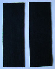 ARCHERY FELT MOLESKIN BLACK TWO 3X9 INCH SHEETS BOW SILENCING