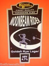 BEER PUMP CLIP - MOONBEAM RIDER GOLDEN RYE LAGER
