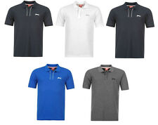 Slazenger Men's No Pattern Loose Fit Collared Casual Shirts & Tops