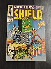 Nick Fury Agent of SHIELD 1 VG to Fine 1 Book * 1st Full Scorpio! Jim Steranko!