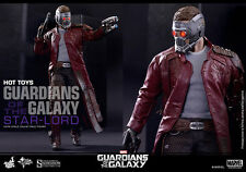 "HOT TOYS Guardians of the Galaxy STAR-LORD 12"" 1/6 Scale Figure Marvel Pratt"