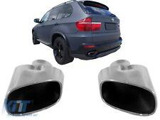 ENDROHR BMW X5 E70 SPORT AUSPUFF ENDROHRE BLENDEN CHROME V8 LOOK