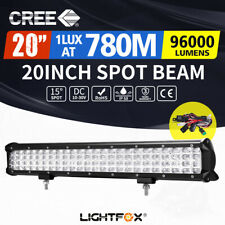 20inch Cree LED Work Light Bar Quad Row Driving Lamp Offroad 4WD Truck 22/23""