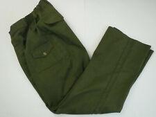Boy Scouts Cargo Action Fit Pants Sz 31 Waist Bsa Green Usa Official Uniform