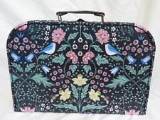 Jardín De Medianoche/Caja de almacenamiento de información de William Morris estilo maleta-nuevo