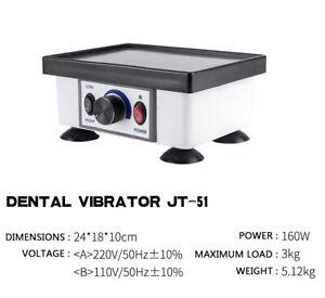 Dental Square Vibrator Model Vibrating JT-51 Electric Oscillator Lab Equipments