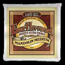 Ernie Ball P02065 Earthwood Mandolin Medium 80/20 Bronze Loop End