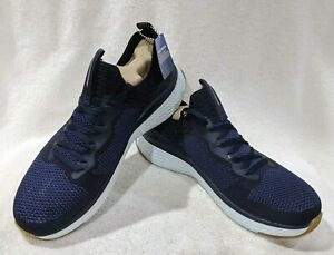 Skechers Solar Fuse Valedge Navy/Red Men's Sneakers - Size 11.5 NWB 52757/NVRD