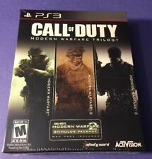 Call of Duty Modern Warfare Trilogy [ 3 Games in 1 Pack ] (PS3) NEW