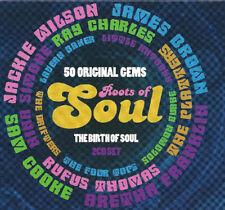 ROOTS OF SOUL (Various Artists - The Birth Of Soul - 50 Original Gems) 2CD