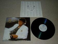 MICHAEL JACKSON THRILLER VINYL ALBUM LP RECORD 33 ORIGINAL NEAR MINT WHITE LABEL