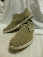 Excellent Mark Nason Men's Light Gray Suede Casual Three Eye Oxfords  Size 16