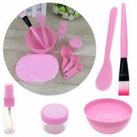 9 in1 Facial Mask Mixing Bowl Kit Brush Spoon Stick Tool Beauty Face Care Kit ne