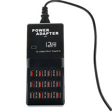 12 Port 5V 3.5A/5V 2.5A/5V 1.5A AC to USB Power Socket USB Charging Station