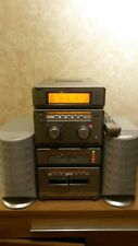 Sony Hi Fi  Compact System Separates 5CD Changer Panasonic Speakers Remote  .