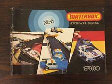 VINTAGE MATCHBOX MOTOR RACING SYSTEMS - 1979/80 - CATALOGUE/BROCHURE