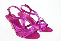 bellissimi marca ASH sandali in vera pelle e vero cuio donna   colore fuxia n 35