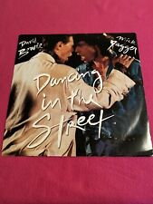 "David Bowie & Mick Jagger Dancing In The Street 12"" Vinyl - VG / VG"
