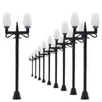 LNH35 20pcs Model Railway Lamppost lamps Street Lights HO OO TT Scale LEDs NEW