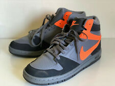NEW! NIKE AIR PRESTIGE GRAY BLACK ORANGE HIGH MEN'S SHOES US 9.5 EU 43 SALE