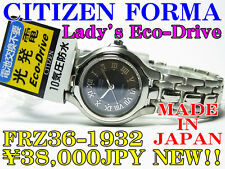 CITIZEN FORMA LADY'S Eco-Drive FRZ36-1932 38,000JPY NEW < MADE IN JAPAN >