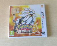 POKEMON SOLE NINTENDO 3DS 2DS ITALIANO COME NUOVO COMPLETO DI MANUALI