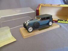 293G Solido 1162 Hispano Suiza 1926 Azul 1:43