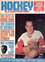 1968 (Mar.) Hockey Illustrated Magazine, Gordie Howe, Detroit Red Wings ~ Fair