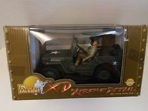 Ultimate Soldier 1:18 Scale 2000 U.S. Army WWII Jeep And Driver & Accessories