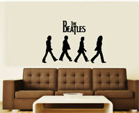 The Beatles Abbey Road Vinyl Wall Decal Graphic Sticker (Large) - 3 Sizes