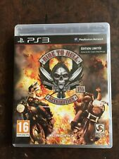 jeux ride to hell retribution ps3 d'occasion