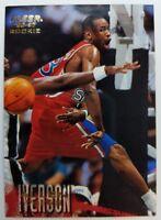 1996 96-97 Fleer Rookie Allen Iverson RC #235, 76ers The Answer HOF