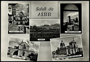 AA2051 Perugia - Province - Greetings from Assisi -