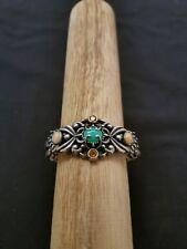 Relios Carolyn Pollack sterling silver gemstone bracelet
